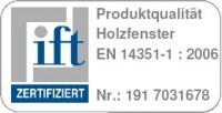 ift zertifizierte Holzfenster