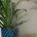 Eisblumenglas Weiss