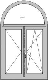 Formen - Fenster mit rundbogen ...