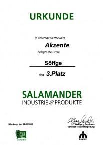 3.Preis beim Architekturwettbewerb Akzente